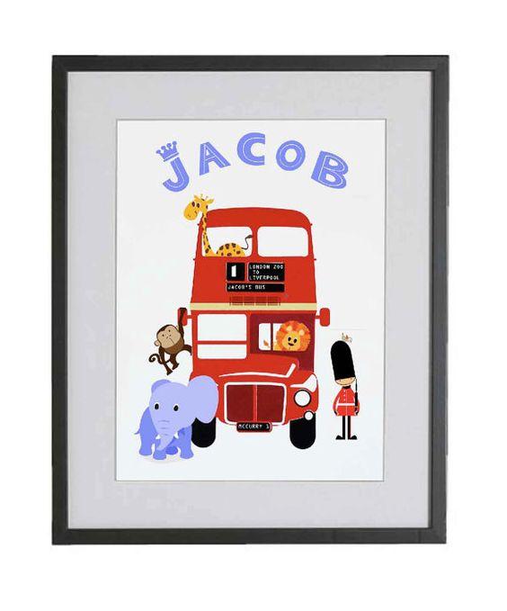 Personalised Children's gift, custom kids gift, gift for baby, newborn gift, personalised baby present