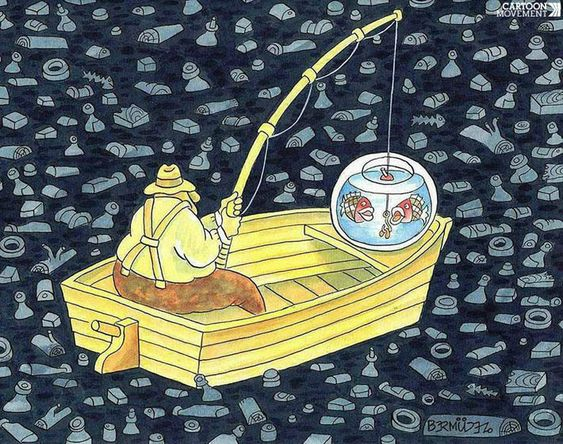Pescando en un futuro cercano.  Por Ricardo Bermúdez.: