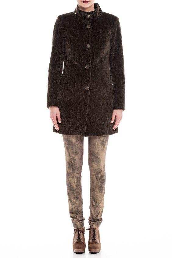 Casaco de pêlo sintético 6558-8710 | Ana Sousa