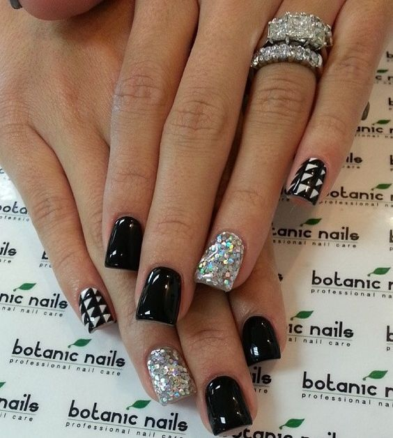 Instagram photo of acrylic nails by botanicnails | Nail ...