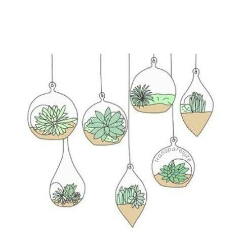 how to draw plants pdf