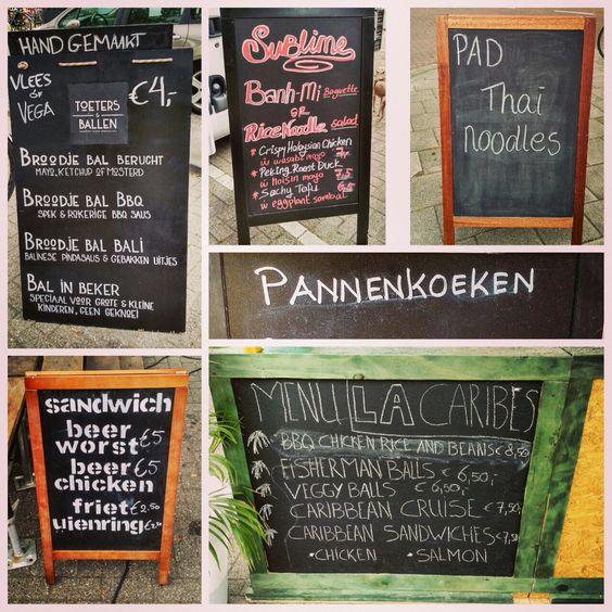 Kanen Bij De Hofbogen: food trucks, local goods and nice people every Friday at the Hofbogen #Rotterdam #summer