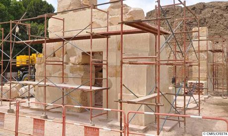 Hatshepsut's limestone chapel at Karnak to open soon for public - Ancient Egypt - Heritage - Ahram Online