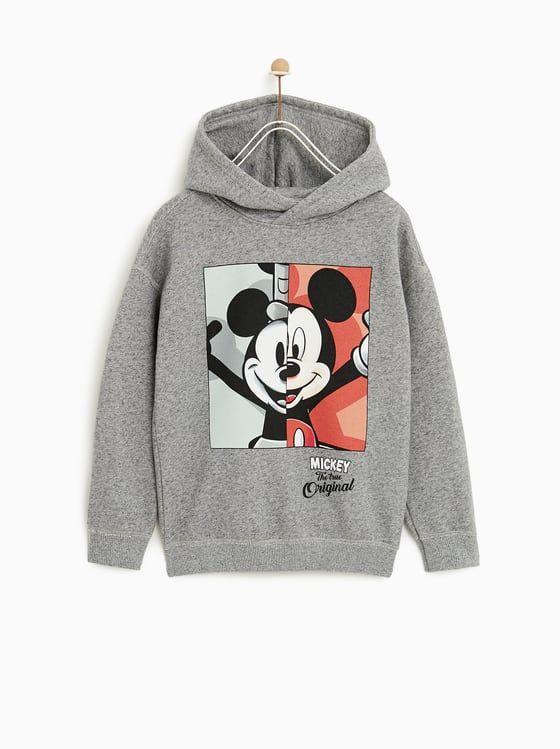 Zdjęcie 1 Bluza Mickey Mouse Z Zara Ropa De Mickey Mouse Ropa Disney Sudadera De Disney