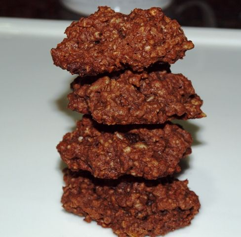 Food & Passion... The Diary of a Food Enthusiast: Chewy Chocolate Oatmeal Cookies
