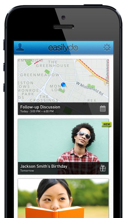 EasilyDo your personal assistant app