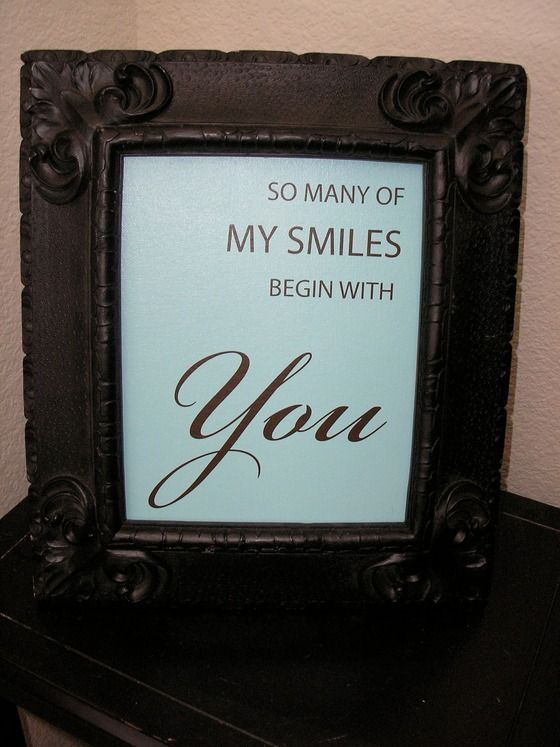 You make me smile picture sign free ship no fee $24.00