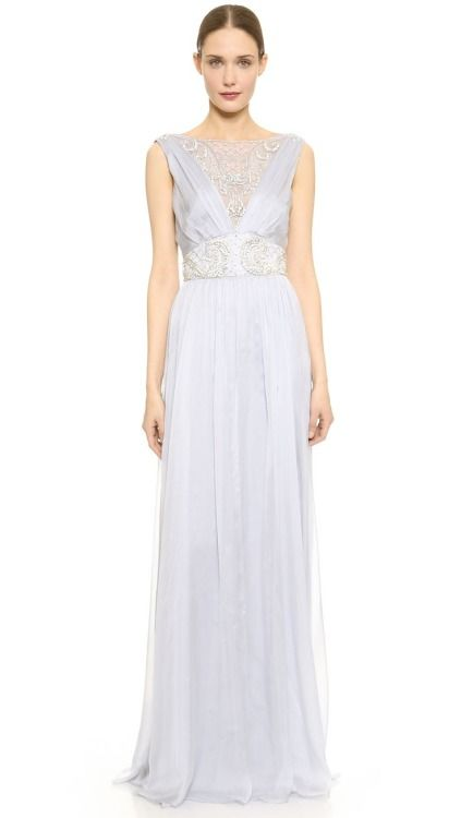 Donna Karan New York Embellished Strapless Gown | SHOPBOP