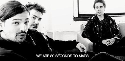 Resultado de imagem para thirty seconds to mars gifs