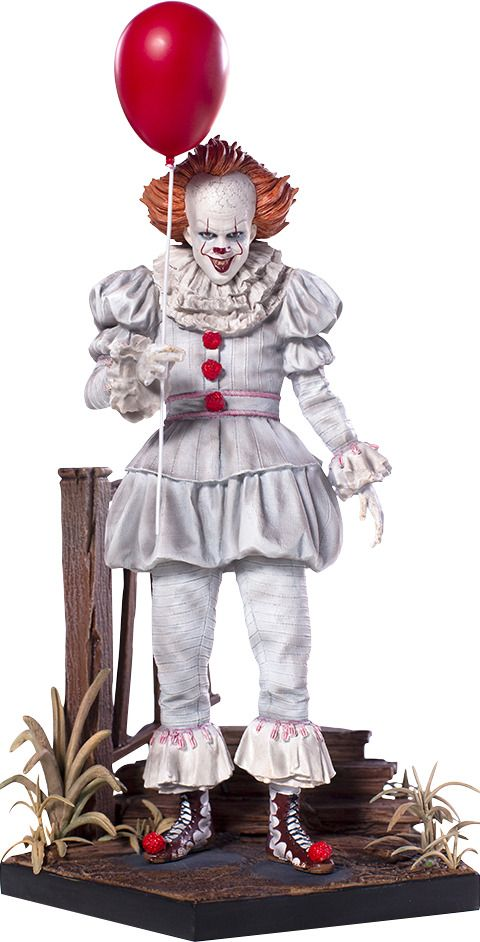 Stephens City Halloween 2020 IT Pennywise Deluxe Statue Stephen King 2017 Movie 1:10 Iron