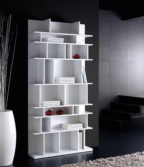 Muebles libreria dise o caty white - Portobellostreet es ...