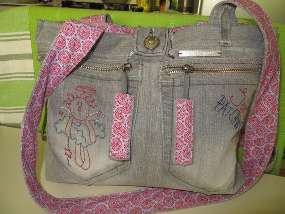 My Cute Jeans Bag :):