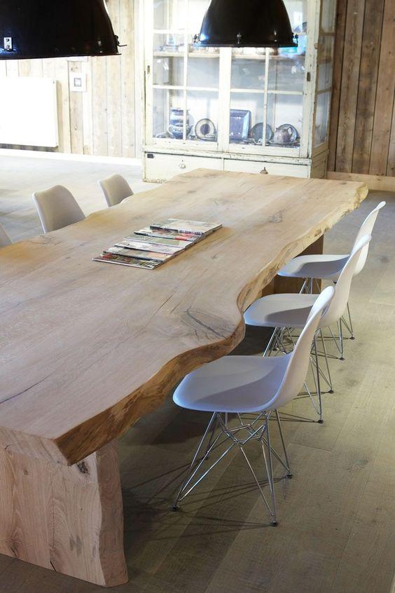 Molitli interieurmakers meubels en interieur meubels keuken alles boomstamtafel - Eames meubels ...