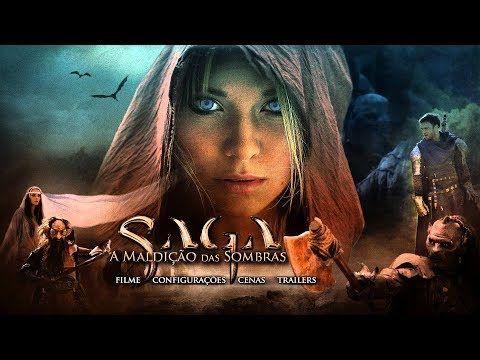 Saga A Maldicao Das Sombras Filme Completo Dublado 2017 Youtube