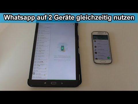 Whatsapp Auf Tablet Und Handy Gleichzeitig Nutzen Anleitung Whatsapp Web Browser Youtube Tablet Handy Anleitungen