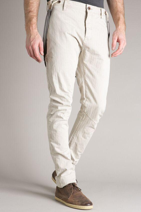 Pants with braces