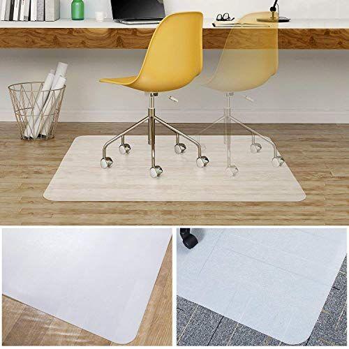 Office Chair Mat For Hardwood Floor Alanda Polyethylene Desk Chair Mat For Hard Floor Heavy Duty Computer Chair Mat Floor For Low Standard Pile Carpet 35 X 47 In 2020 Office