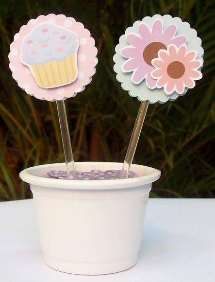 Toppers para cupcake Ursinhas