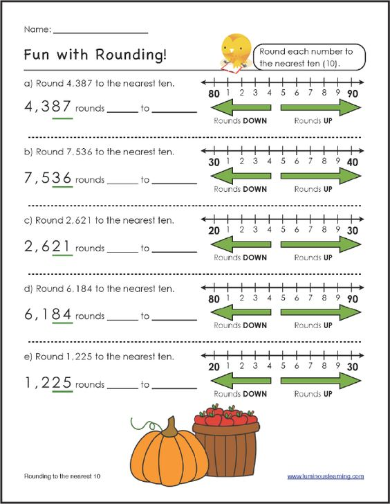 FREE Rounding Worksheet Luminous Learning worksheets help – Math Help Worksheets