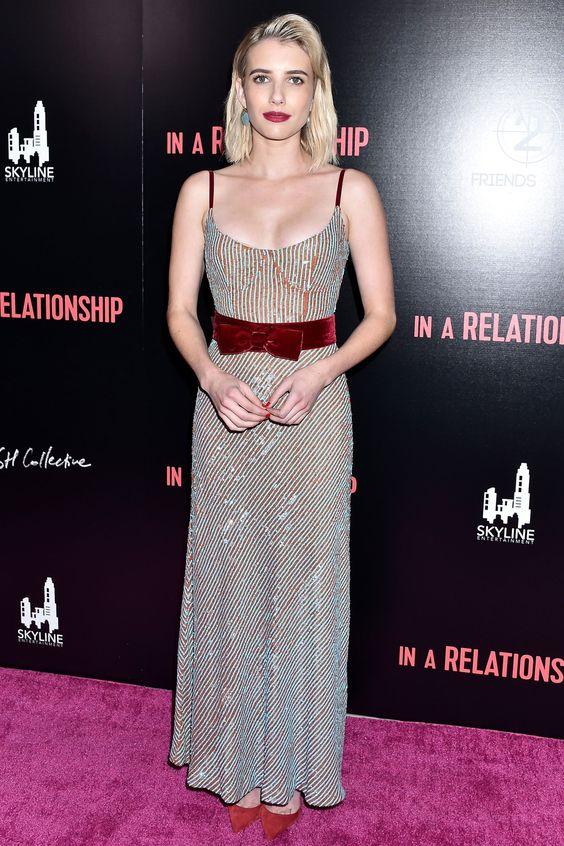 Hot or Not - Emma Roberts  alla prima del film in a Relationship