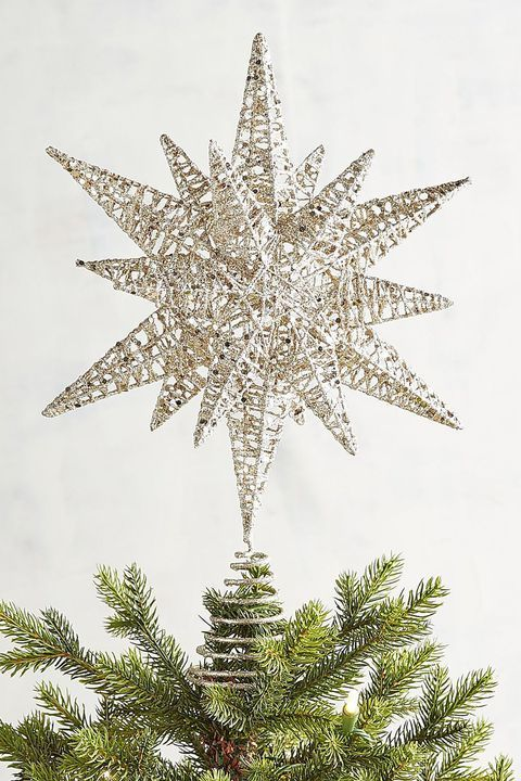 West Elm LED Shining Star Tree Topper New in Box