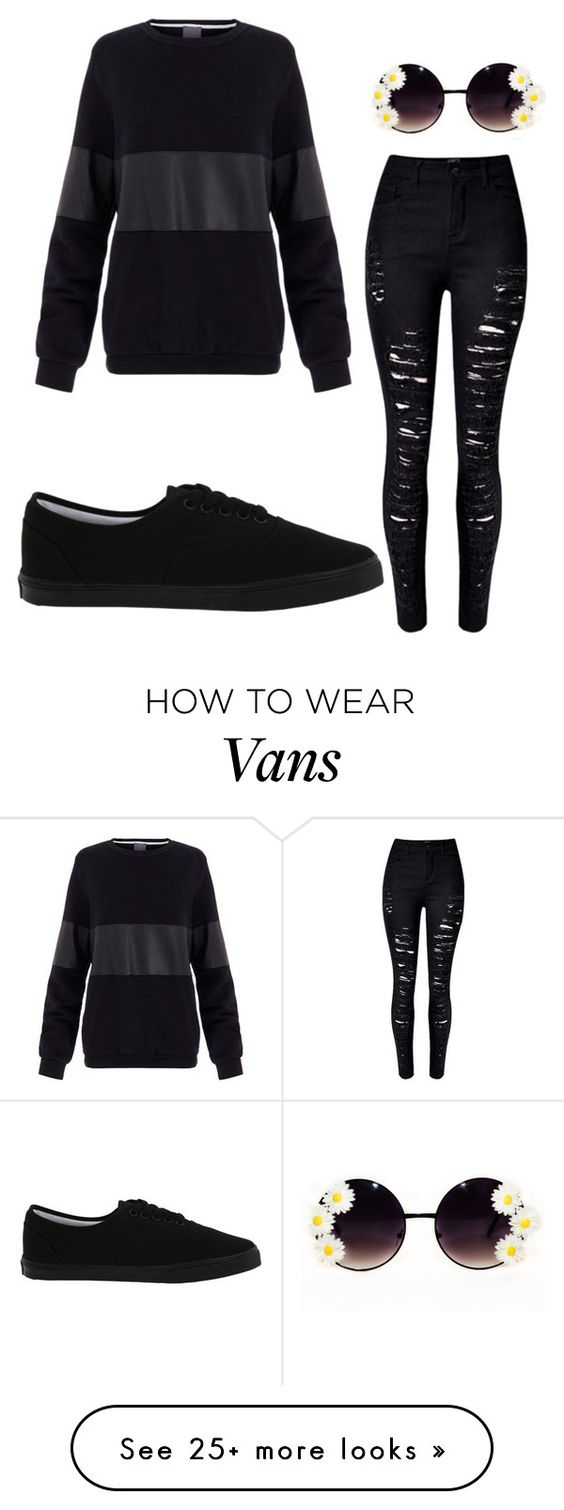 """""""Untitled #121"""" by simplyfashion121 on Polyvore featuring Lot78, Vans, women's clothing, women, female, woman, misses and juniors"""