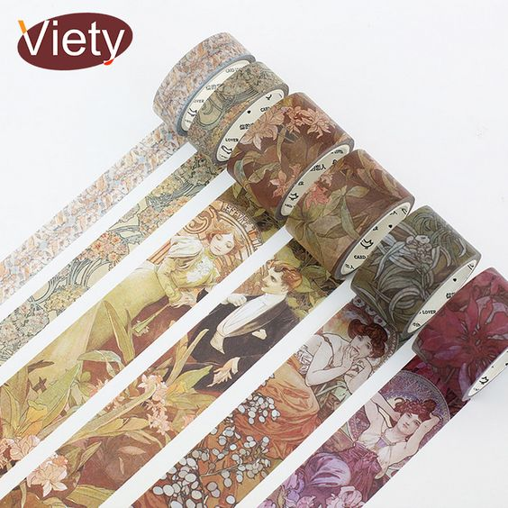 Cheap tape diy decoration, Buy Quality washi tape directly from China masking tape Suppliers: 1.5-10cm*5-7m Vintage European opera epic washi tape DIY decoration scrapbooking planner masking tape adhesive tape washitape