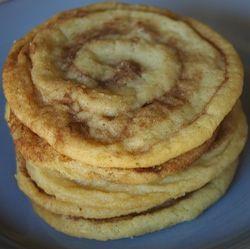Not just Cinnamon Roll Cookies....Paula Deen's Cinnamon Roll Cookies.