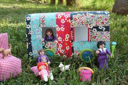tuto fabriquer une roulotte pour les enfants puppnhaus pinterest tissus crochet et. Black Bedroom Furniture Sets. Home Design Ideas