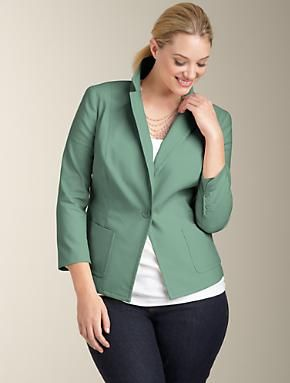 Option A - jacket instead of sweater