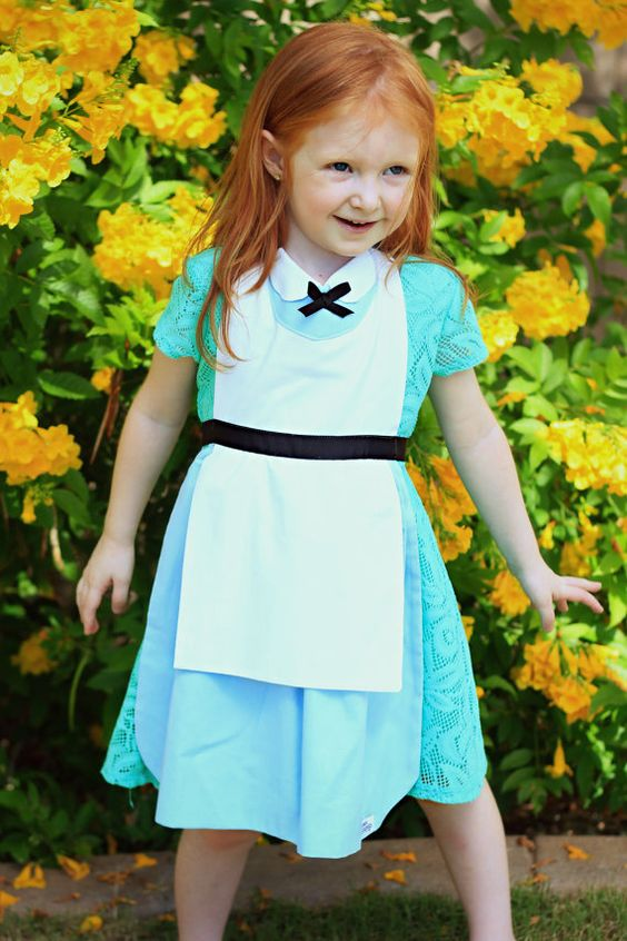 ALICE in Wonderland Disney Princess by QueenElizabethAprons