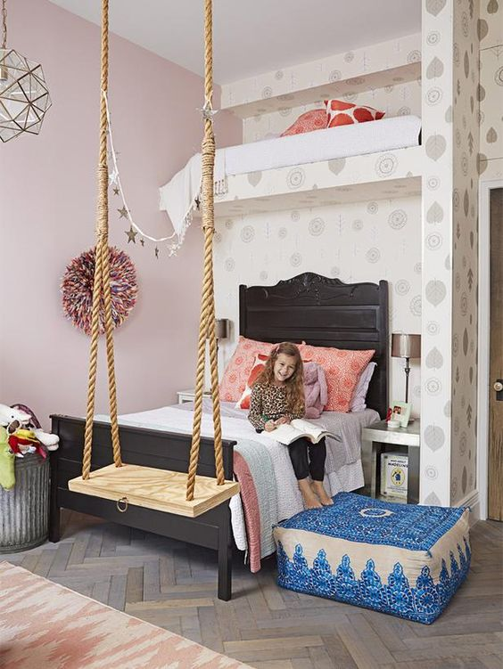 Little girl's room. Genevieve Gorder's NYC Apartment Renovation : Decorating : Home & Garden Television: