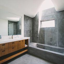 Green Greenberg Green House - modern - bathroom - los angeles - NEW THEME Inc.