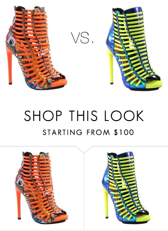 """""""vs."""" by mariarospigliosi2005 ❤ liked on Polyvore featuring Luichiny"""