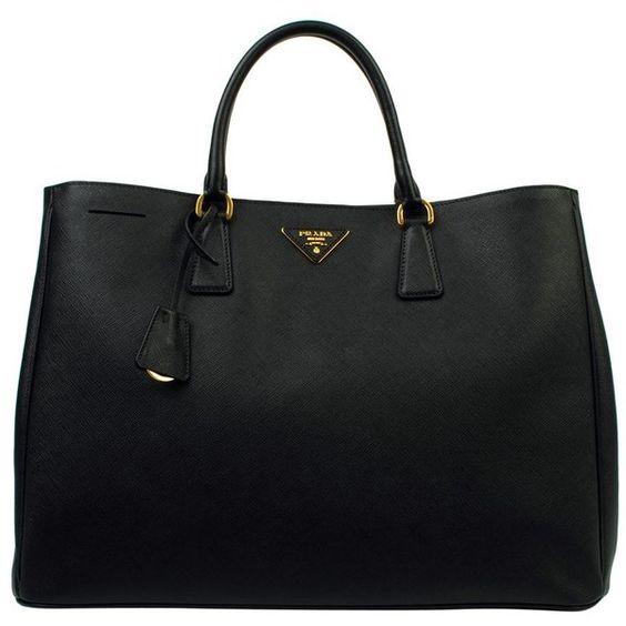PRADA Large Saffiano Luxe Shopper