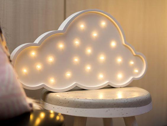 Mini-Wolke batteriebetriebenes Licht von LoveStruckHomewares
