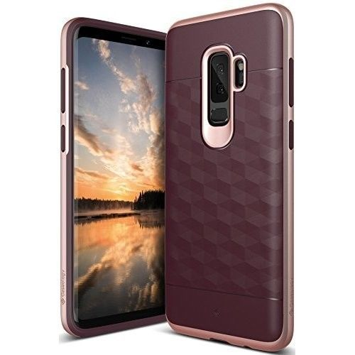 Samsung Galaxy S9 Plus Case Protective Dual Layer Secure Grip Burgundy Rose Gold Caseology Case Samsung Galaxy S9 Iphone Cases