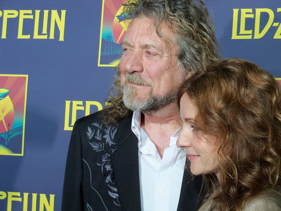 Robert and Patty attend Celebration Day premiere in New York City 2012