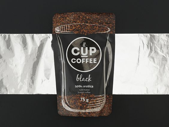 Cup Cofee Logo and Package Design by Ann Podrez
