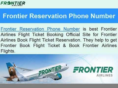 Contact Us For Flightreservations Frontierairlinesnumber Dial Toll Free 1 888 388 8920 Usa Book Flight Tickets Airline Booking Frontier Air