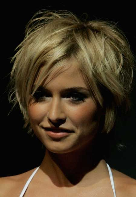 Enjoyable Short Cuts Thick Hair And Haircuts For Women On Pinterest Short Hairstyles Gunalazisus