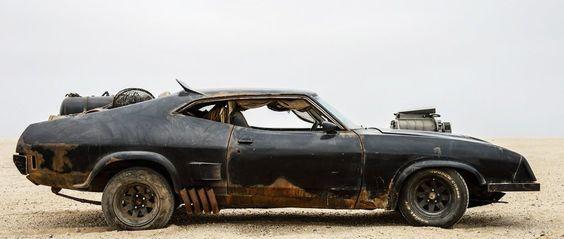Una mirada a los autos asesinos de 'Mad Max: Fury Road'