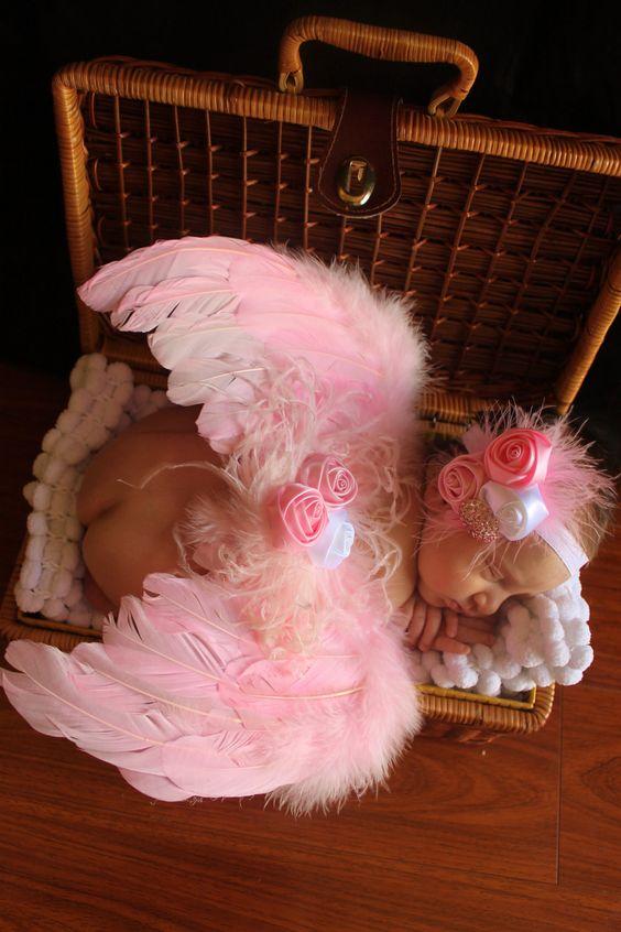 Newborn Angel Wings
