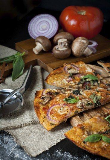 recetas rpidas y sencillas pizza vegetariana para personas