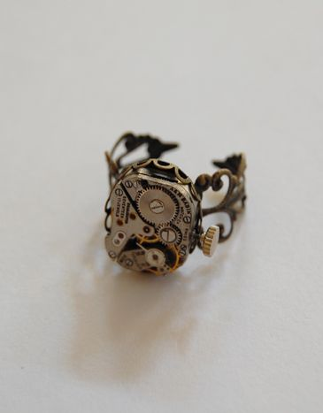 Steampunk ring - Thumbnail 1