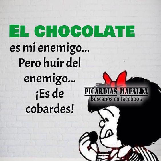 Mafalda y el chocolate