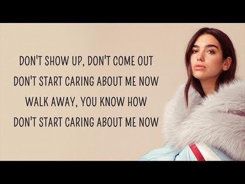 Dua Lipa Don T Start Now Lyrics Youtube Forever Quotes Cute Song Lyrics Caption Lyrics