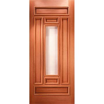 Puertas principal and google on pinterest - Puertas de madera para entrada principal ...
