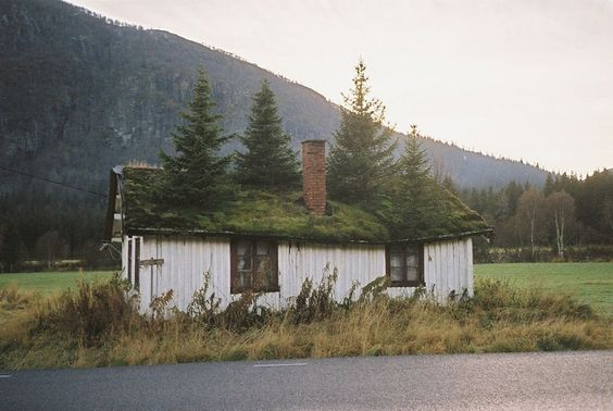 my dream house.  we saw a similar one somewhere in Norway, too, but i don't think i got a picture of it.  maybe this is it ?