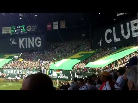 Epic King of Clubs tifo ahead of match versus Sh*ttle